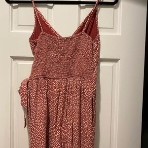 Abercrombie & Fitch Other - A&F Red Floral Wrap Romper With Pockets - S